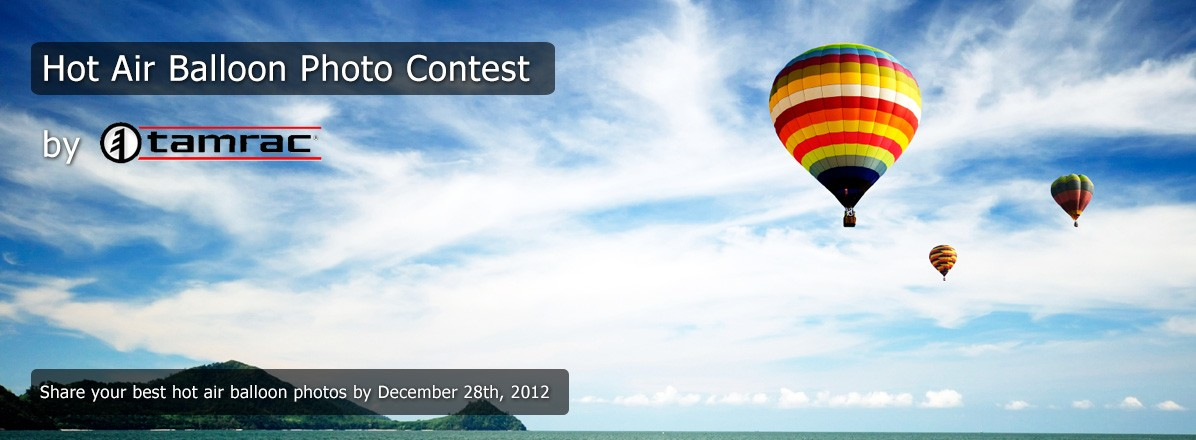 Hot Air Balloon Photo Contest