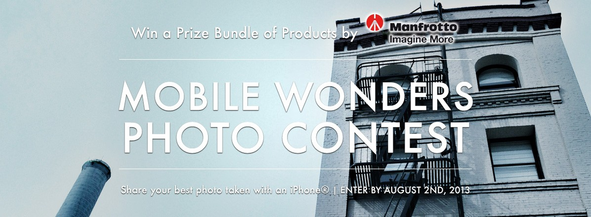 Mobile Wonders Photo Contest by Manfrotto