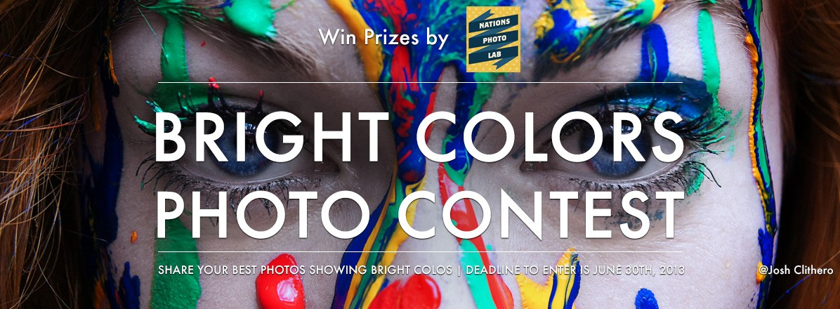 Bright Colors Photo Contest