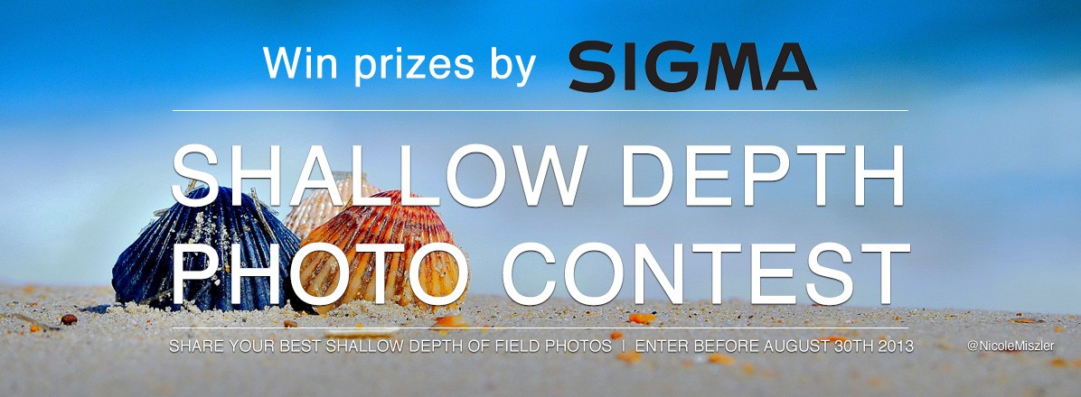 Shallow Depth Photo Contest by Sigma