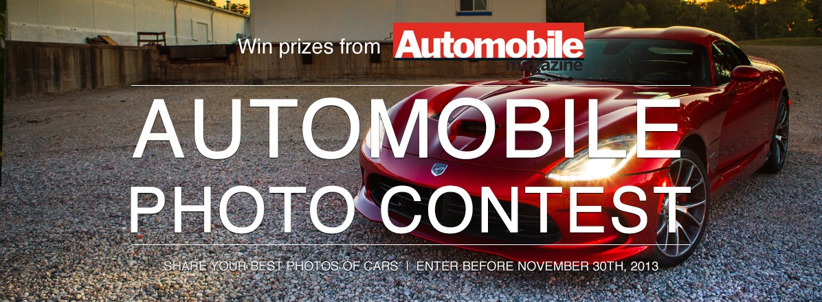 Automobile Photo Contest