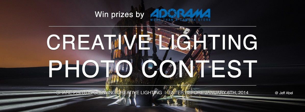 Creative Lighting Photo Contest by Adorama