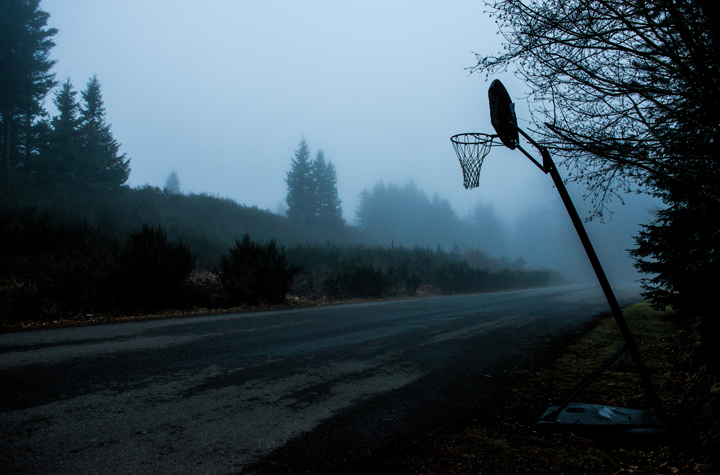 Guest Judge Robin Layton: A Collection Of Photographs Of Basketball Hoops